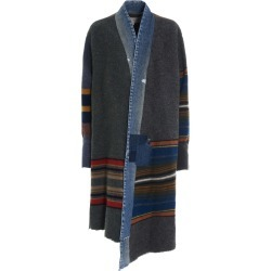 Greg Lauren mixed Long Blanket Jacket found on MODAPINS from Italist for USD $1914.66