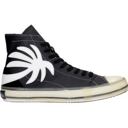 Palm Angels Vulc Palm Sneakers In Black Leather found on Bargain Bro UK from Italist