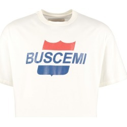 Buscemi Printed Short Sleeve Cotton T-shirt found on MODAPINS from Italist for USD $247.58