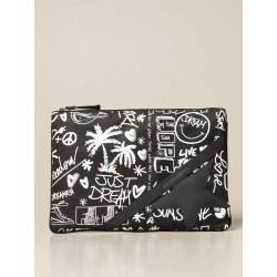 Golden Goose Briefcase Golden Goose Clutch In Printed Nylon found on Bargain Bro UK from Italist