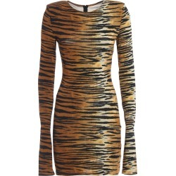 Alexandre Vauthier Animal Print Viscose Blend Dress found on MODAPINS from Italist for USD $1016.85