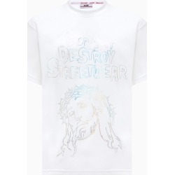 Gcds Jesus T-shirt Cc94m021016 found on MODAPINS from Italist for USD $196.36