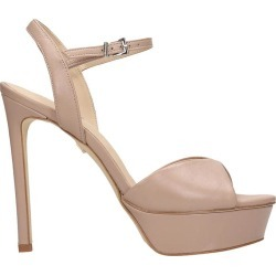 Lola Cruz Sandals In Taupe Leather found on Bargain Bro UK from Italist