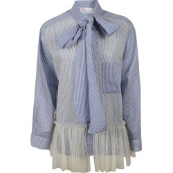 Stripe Lace Bow Shirt found on Bargain Bro from italist.com us for USD $242.56