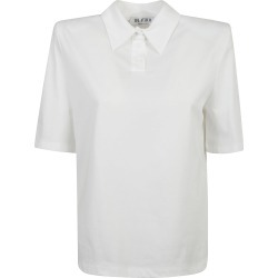 The Attico Round Neck Polo Shirt found on Bargain Bro India from italist.com us for $331.32
