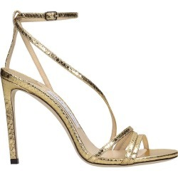 Jimmy Choo Tesca 100 Sandals In Gold Leather found on Bargain Bro UK from Italist