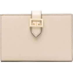 Givenchy Gv3 Wallet In Beige Leather found on Bargain Bro UK from Italist