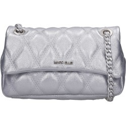Marc Ellis Desdemona M Shoulder Bag In Silver Leather found on MODAPINS from Italist for USD $205.02
