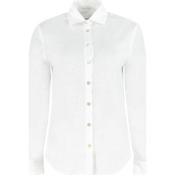 Barba Napoli Linen Shirt found on MODAPINS from italist.com us for USD $225.95