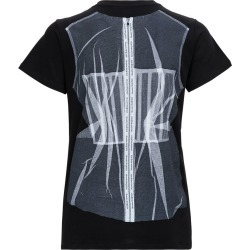 Alexander McQueen Cotton T-shirt With Corset Print found on MODAPINS from Italist for USD $277.16
