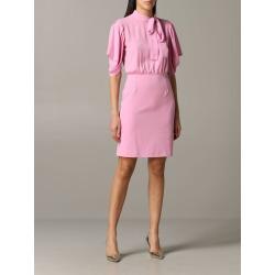 Be Blumarine Dress Be Blumarine Short Dress With Foulard Collar found on MODAPINS from Italist for USD $295.41