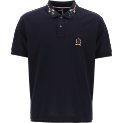 Tommy Hilfiger Polo Shirt With Embroidered Collar found on Bargain Bro UK from Italist
