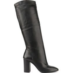 Aldo Castagna Black Leather High Boots found on MODAPINS from italist.com us for USD $239.35