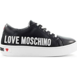 Love Moschino Black Sneaker With White Logo found on MODAPINS from Italist for USD $262.05
