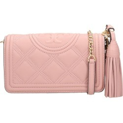 Tory Burch Wallet Shoulder Bag In Rose-pink Leather found on Bargain Bro UK from Italist