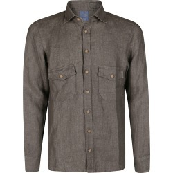 Barba Napoli Green Cotton Shirt found on MODAPINS from Italist for USD $214.18