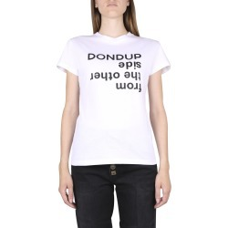 Dondup Dondup White Cotton T-shirt found on MODAPINS from Italist for USD $144.91