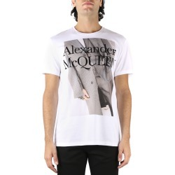 Alexander McQueen Atelier Print White Cotton T-shirt found on MODAPINS from italist.com us for USD $305.69