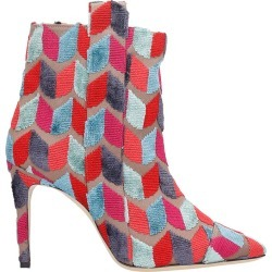 Bams High Heels Ankle Boots In Rose-pink Wool found on MODAPINS from italist.com us for USD $401.62