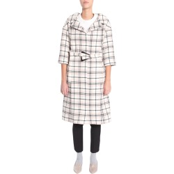 Carven Check Coat found on MODAPINS from Italist for USD $743.12
