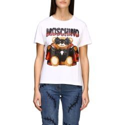 Moschino Couture T-shirt Moschino Couture Short-sleeved T-shirt With Bat Teddy found on Bargain Bro India from italist.com us for $272.59