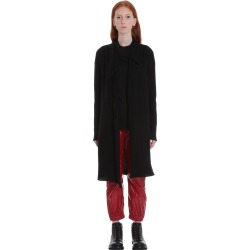 Rick Owens Long Jacket Cardigan In Black Wool found on Bargain Bro UK from Italist