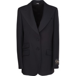 Gucci single-breasted blazer. Collar found on MODAPINS from Italist for USD $2217.44
