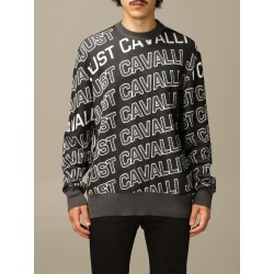 Just Cavalli Sweater Just Cavalli Pullover With All Over Logo found on MODAPINS from italist.com us for USD $370.74
