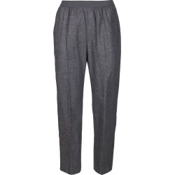 Agnona Grey Wool-silk Blend Trousers found on MODAPINS from Italist for USD $500.54