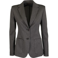 Max Mara Fosca Pinstripe Jacket In Viscose Jersey found on Bargain Bro UK from Italist