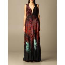 Just Cavalli Dress Just Cavalli Animal Print Long Dress found on Bargain Bro India from italist.com us for $1280.13