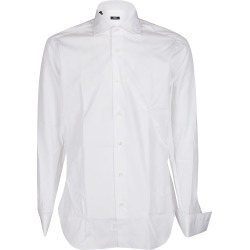 Barba Napoli White Cotton Shirt found on MODAPINS from italist.com us for USD $166.54
