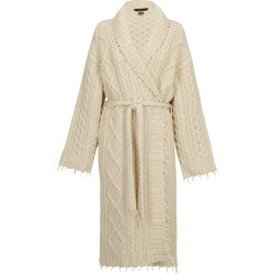 Alanui Fisherman Knit Coat found on Bargain Bro Philippines from italist.com us for $1832.32