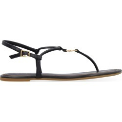 Tory Burch Emmy Leather Flat Sandals found on Bargain Bro UK from Italist