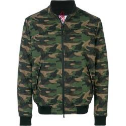 Camouflage Print Mid Season Jacket