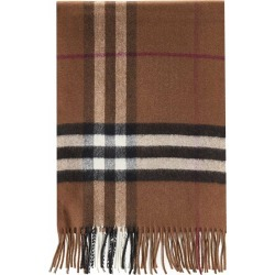 Burberry Check Motif Cashmere Scarf found on Bargain Bro UK from Italist