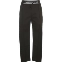 Calvin Klein Jeans Logo Tape Slim Melange Jogger Leggings found on Bargain Bro UK from Italist