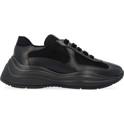 Prada Leather Low-top Sneakers found on MODAPINS from Italist for USD $630.46