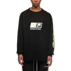 Daniel Patrick Logo Print Sweatshirt found on MODAPINS from Italist for USD $144.08