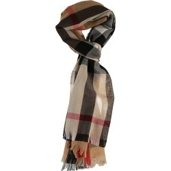 Burberry Checked Scarf found on Bargain Bro UK from Italist