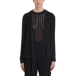 Maison Flaneur Knit Black Cotton Cardigan found on Bargain Bro India from italist.com us for $364.95