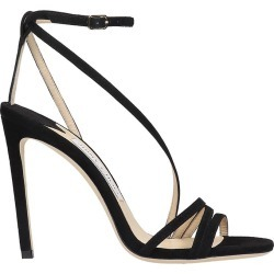 Jimmy Choo Tesca 100 Sandals In Black Suede found on Bargain Bro UK from Italist