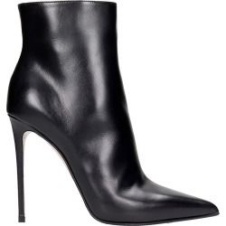 Le Silla Eva 120 High Heels Ankle Boots In Black Leather found on MODAPINS from italist.com us for USD $676.78