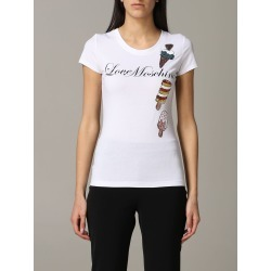 Love Moschino T-shirt Love Moschino T-shirt With Ice Cream And Sequins Print found on Bargain Bro UK from Italist