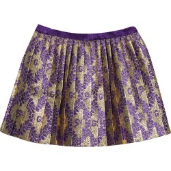 Gucci Pleated Skirt With Monogram found on MODAPINS from italist.com us for USD $461.54