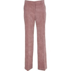 Hebe Studio Pink Cordury Trousers found on MODAPINS from Italist for USD $181.92