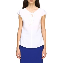 Boutique Moschino Top Top Moschino Crepe Top With Bow found on MODAPINS from Italist for USD $256.19