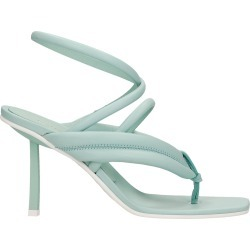 Le Silla Sandals In Green Leather found on MODAPINS from italist.com us for USD $510.01