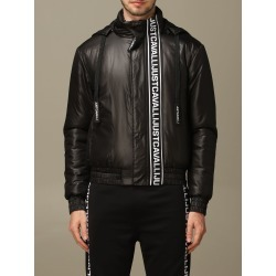 Just Cavalli Jacket Just Cavalli Bomber In Nylon With Hood And Logo found on MODAPINS from italist.com us for USD $508.55