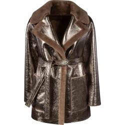 Blancha Metallic Reversible Trench found on MODAPINS from Italist for USD $1950.47